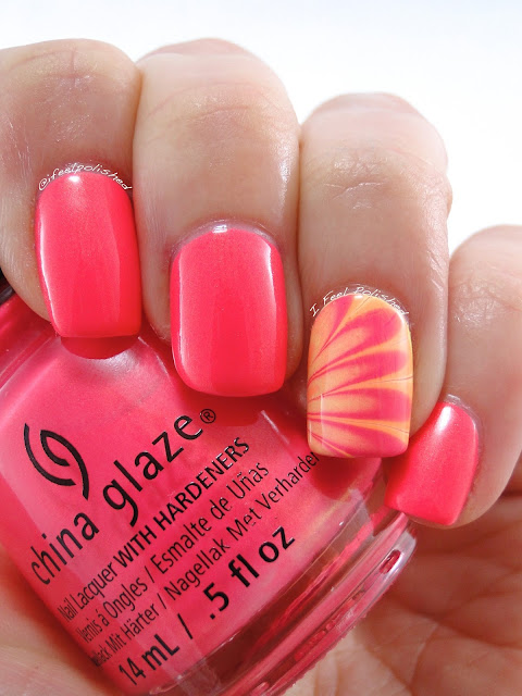 China Glaze Lite Brites Water Marble