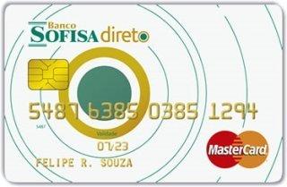 Cartão Pré-pago Sofisa Direto