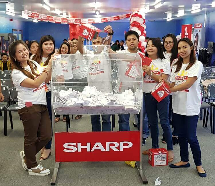 "Sharp Announces Luzon's ""We Love Philippines"" Winners"