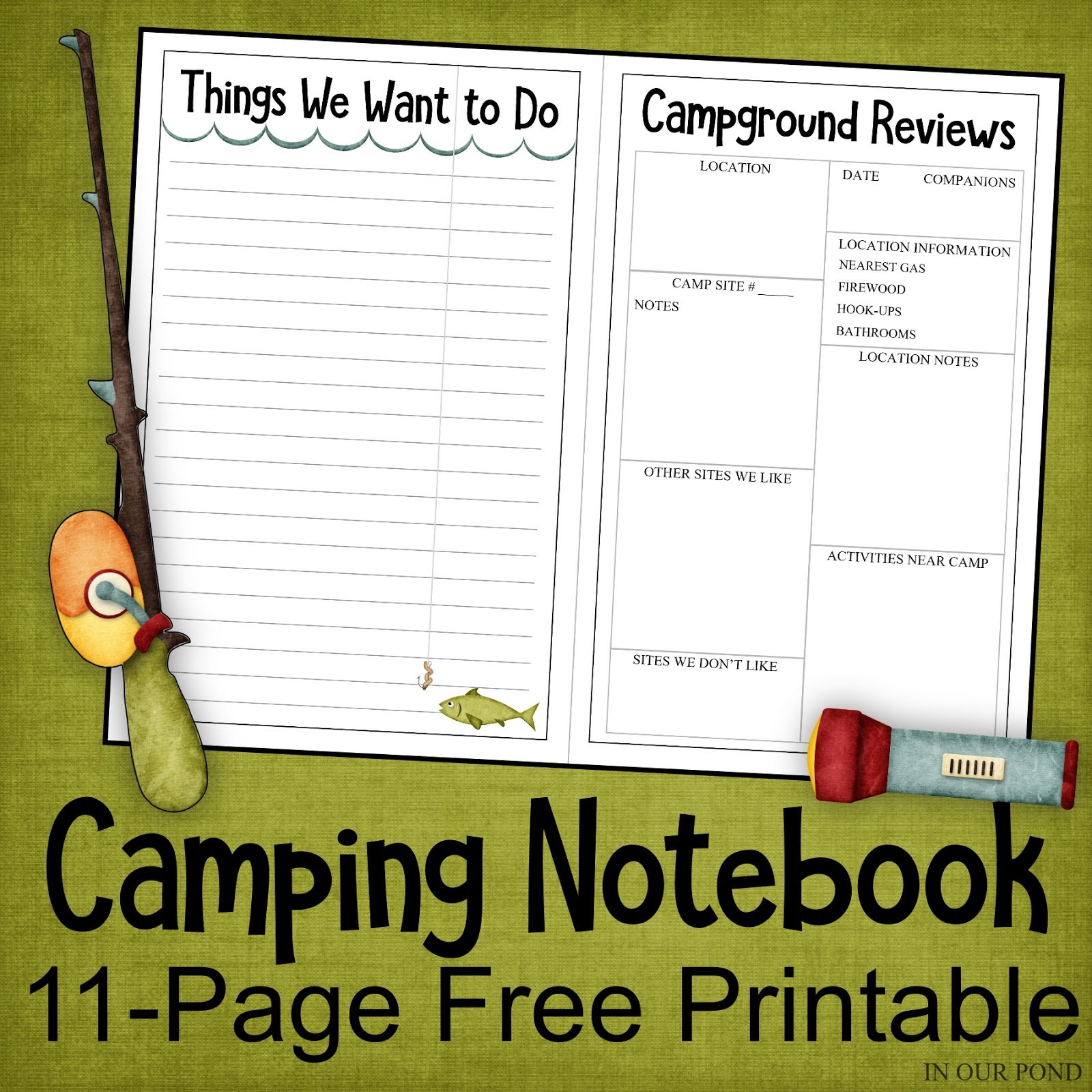 photo relating to Free Printable Home Organizer Notebook named Tenting Laptop computer Organizer