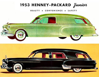 1953 Henney-Packard and Meteor-Pontiac specialty classic ambulance