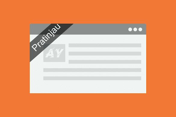 Cara Menghilangkan Goresan Pena Pratinjau Di Blogger Dengan Mudah
