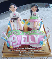 Cupcake Murah Anniversary dan Birthday Romantis