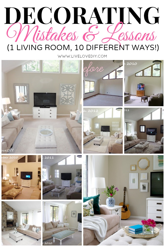 LiveLoveDIY: How to Decorate a Living Room: 2 Years of ...