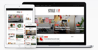 style me blogger template 2018
