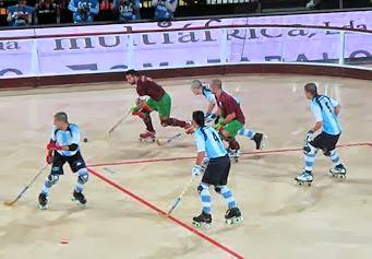 cdf94bf67e Portugal voltou a perder com a Argentina nas meias-finais do Mundial de  hóquei em patins e já não poderá medir forças com a Espanha na final