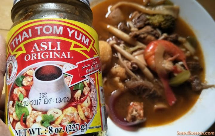 Pes Tom Yam Asli Original