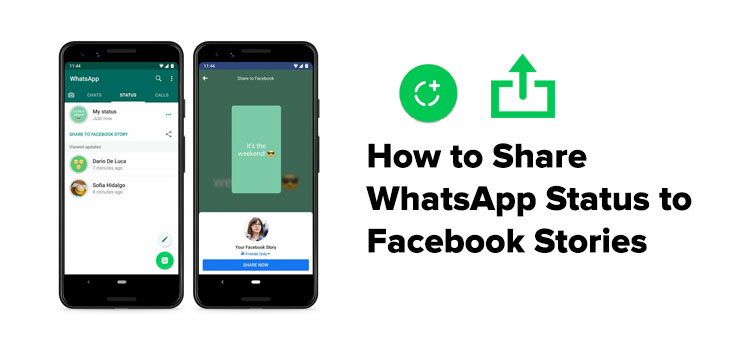 How To Share The Whatsapp Status To Fb Stories And Other