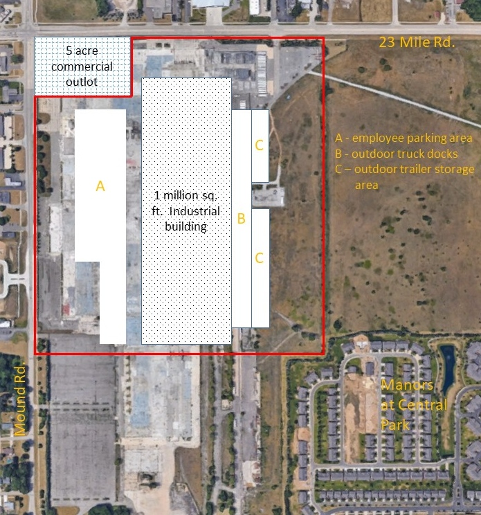 Redevelopment plans for the former Visteon plant