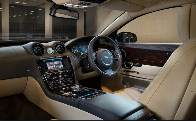 Interior Of 2018 Jaguar Xj