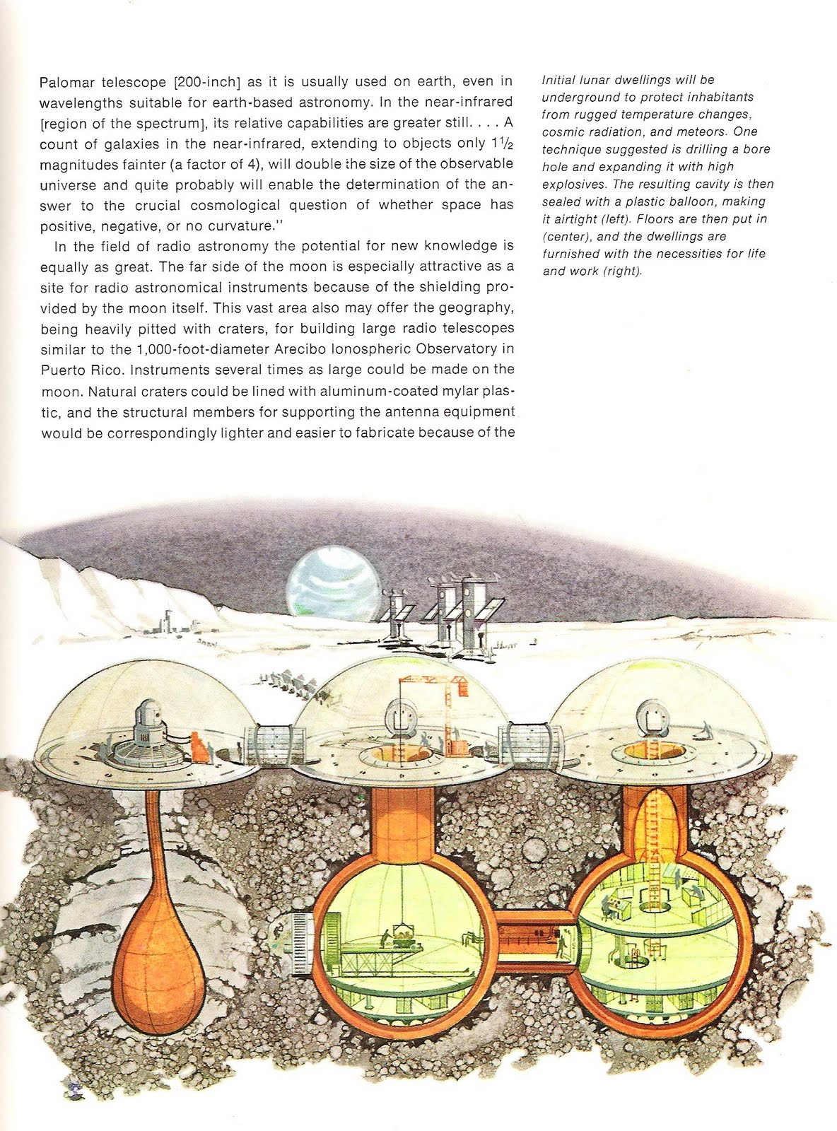Moon Base Plans (page 4) - Pics about space