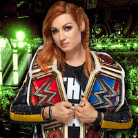 Becky Lynch Featured on The Money In The Bank Poster