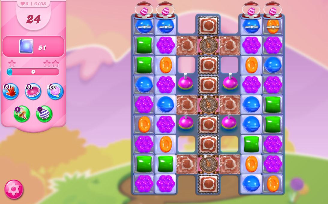 Candy Crush Saga level 6198