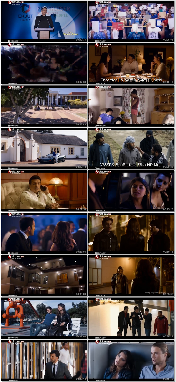 Screen Shot Of Ishq Forever 2016 Full Movie Free Download HD 720P Watch Online