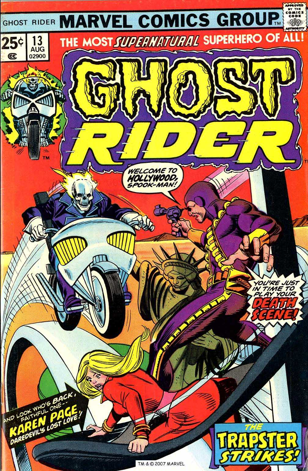Ghost Rider (1973) Issue #13 #13 - English 1