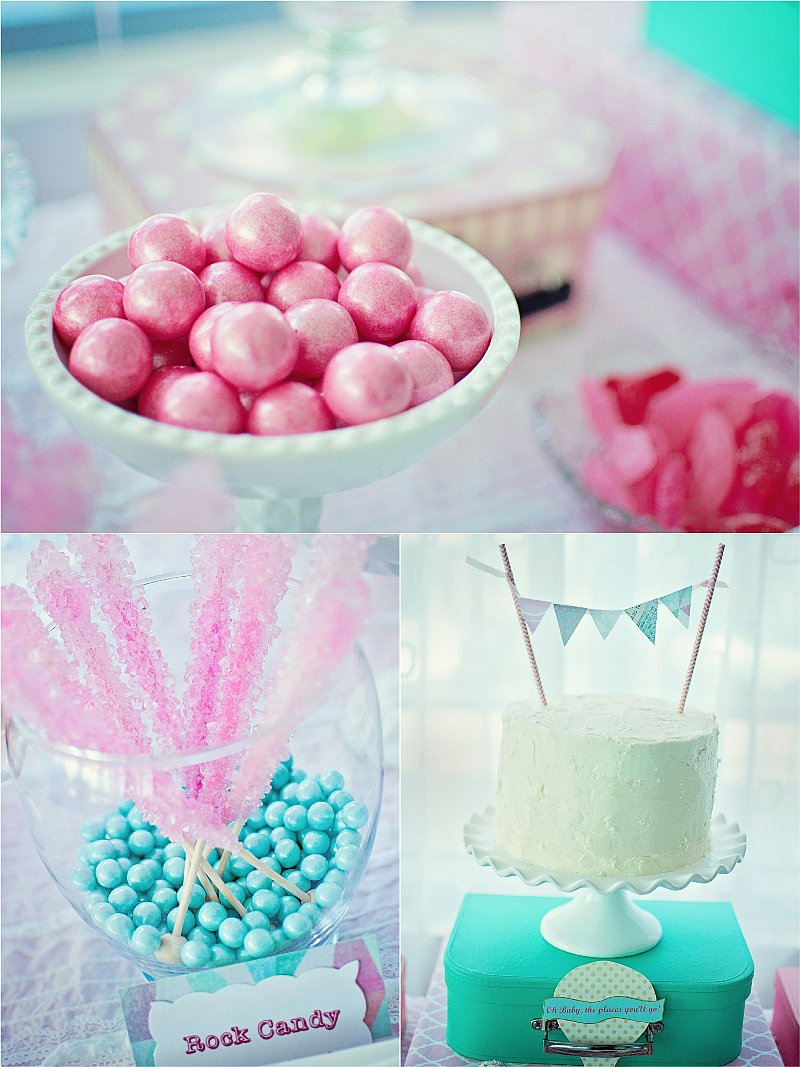 A Balloon Themed Baby Shower - Party Ideas | Party Printables Blog