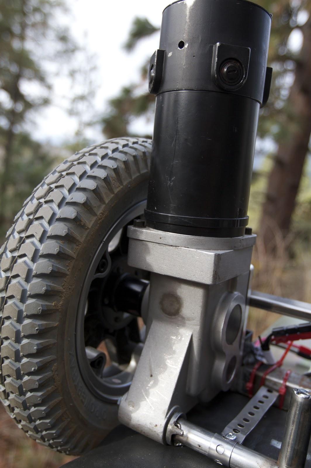 Wheelchair Motor Portable Wheel Chair Ramp 2 Self Balancer Using Motors Glenns Garage