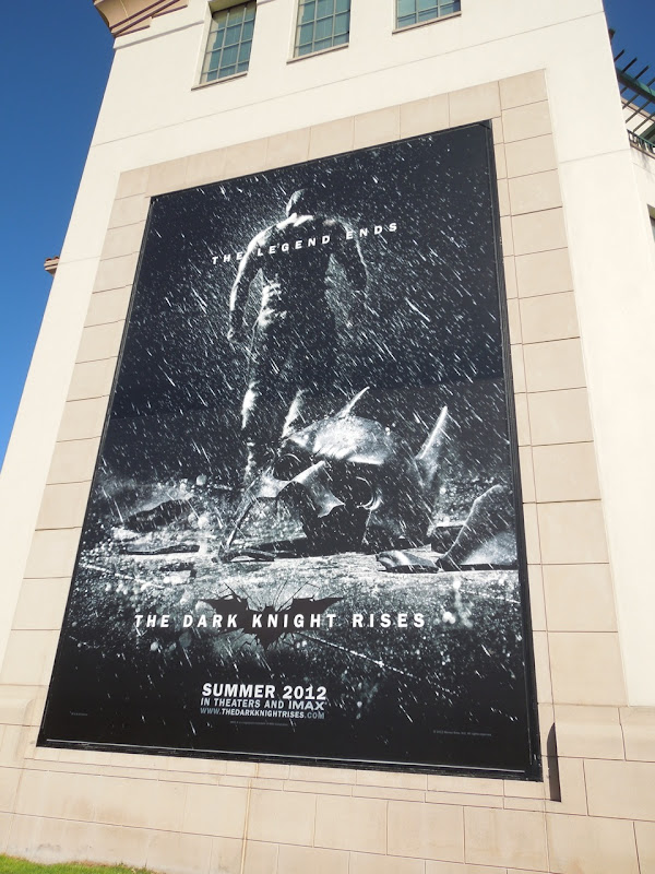 Dark Knight Rises teaser billboard