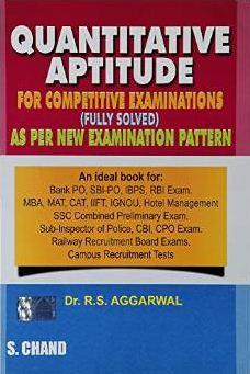Best Quantitative Aptitude books for all competitive exams