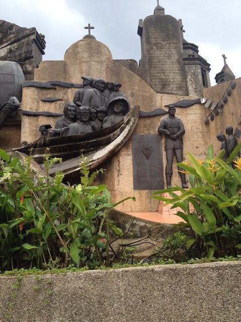Cebu's revolt against Spanish rule at the Heritage of Cebu Monument