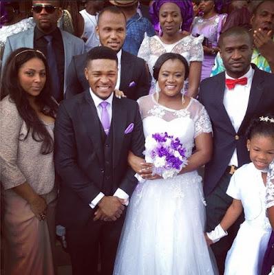 P Square Wedding Pics