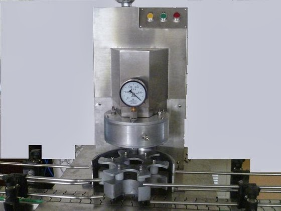 automatic vacuum capping machine for food glass jars vacío automática máquina que capsula