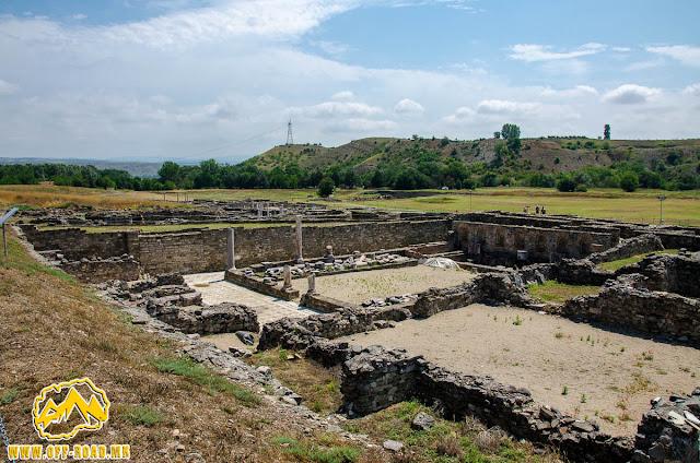 THE THEODOSIAN PALACE #Stobi Archaeological site #Macedonia