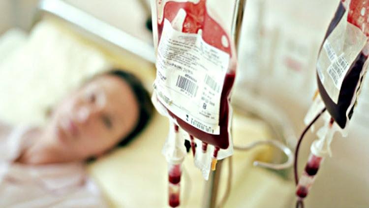 Tranfusión de sangre