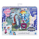 MLP Doll and Pony Set Rainbow Dash Brushable Pony