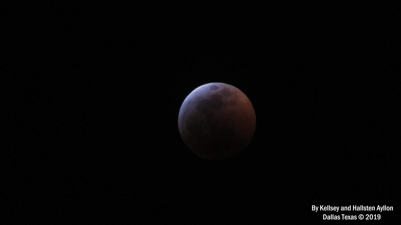 blood moon january 2019 dallas tx - photo #16