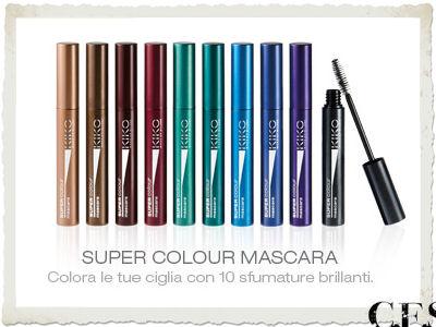 Super Colour Mascara KIKO Active colours