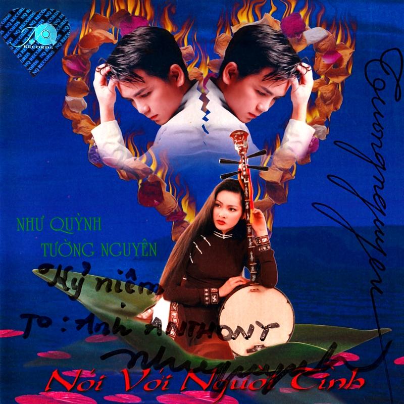 Như Quỳnh CD - Như Quỳnh, Tường Nguyên - Nói Với Người Tình (NRG) + bìa scan mới