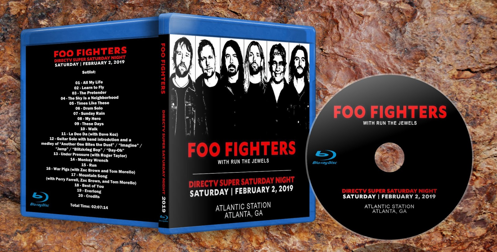 Deer5001RockCocert : Foo Fighters - 2019-02-02 - Super Saturday