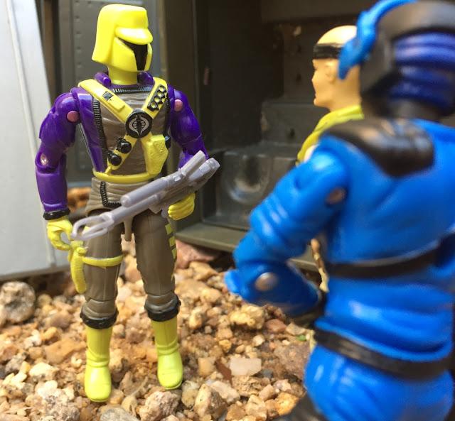 1993 Interrogator, Mail Away, Cyber Viper, Mega Marines, Detonator, Nitro Viper, Black Major, Night Viper, Soldado, 1992 Gung Ho