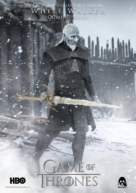"White Walker 1/6 de ""A Game of Thrones"" - Threezero"