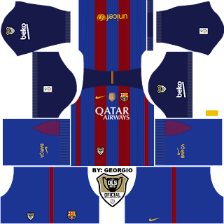 barcelona new kit 2017