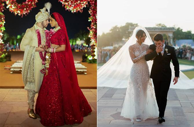 Wedding Pics of Priyanka Chopra and Nick Jonas