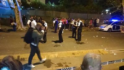 POLICIA METROPOLITANA, POLICIA