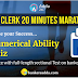 SBI Clerk 20 Minutes Marathon | Numerical Ability Sectional Test: 21st June 2018