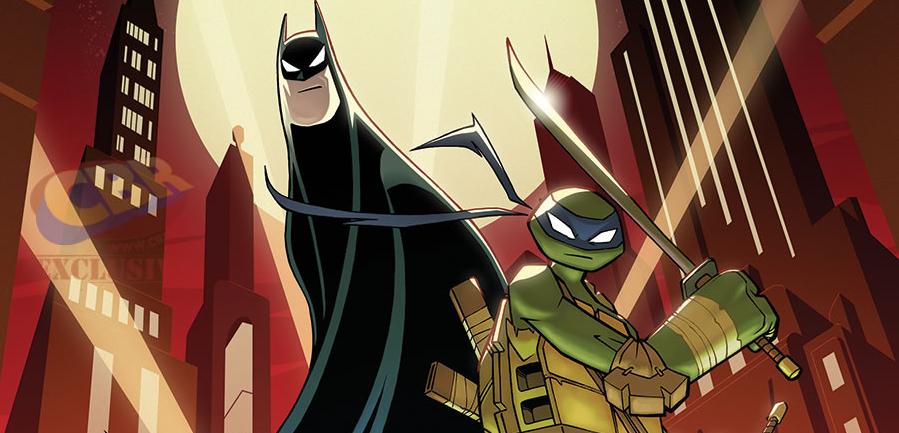 Experiencia Nerd Batman E Tartarugas Ninja Crossover Com Os