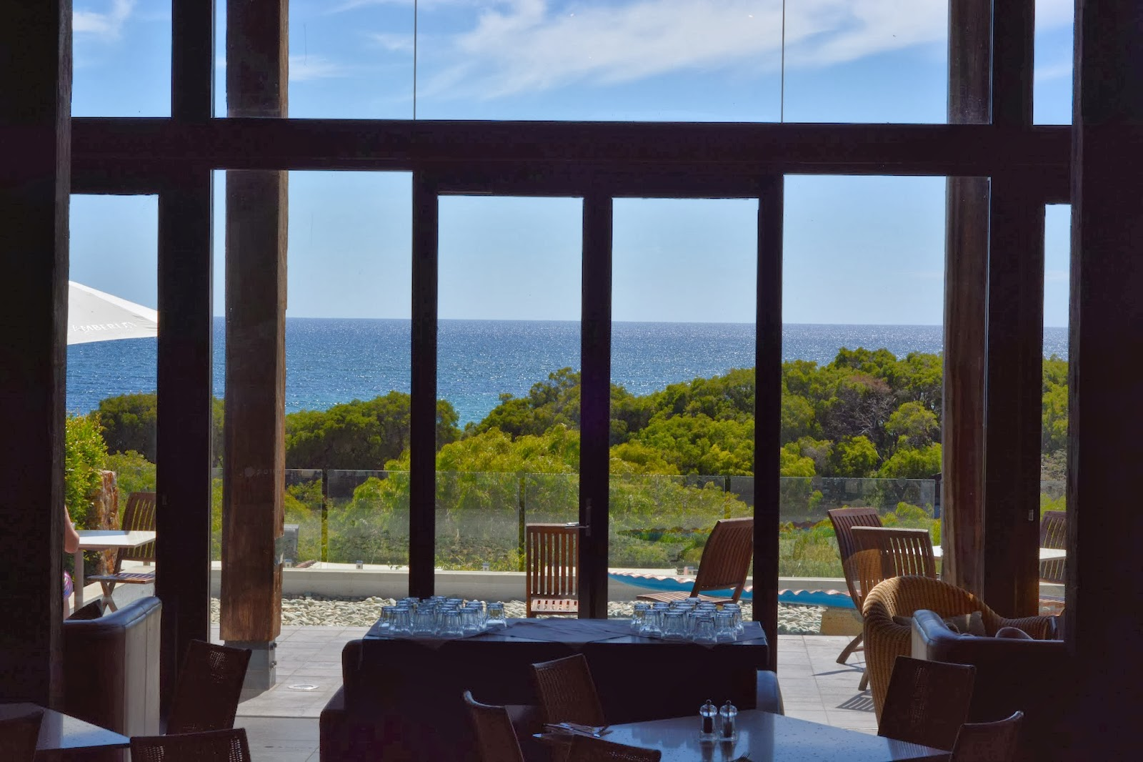 View from the Pullman Resort Bunker Bay restaurant