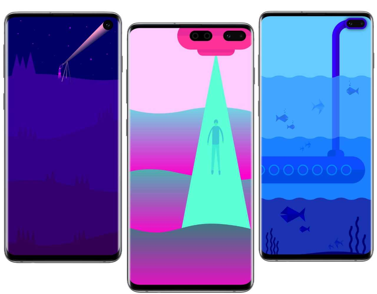Best Samsung Galaxy S10e, S10 and S10 Plus wallpapers