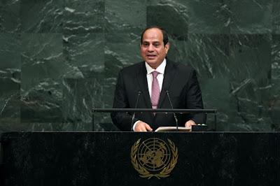 Presidente do Egito convoca palestinos a coexistir com Israel