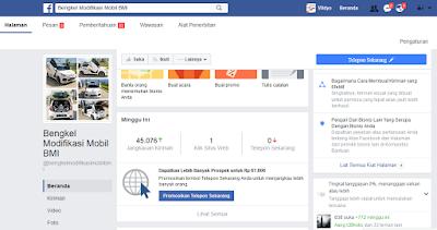 Pasang Iklan Di Facebook Omzet Besar