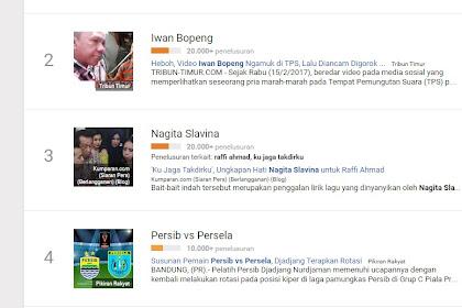Dahsyatnya Media Sodial, Video Iwan Bopeng Jadi Trending Di Google News Meski Media Mainstream Tak Memberitakannya