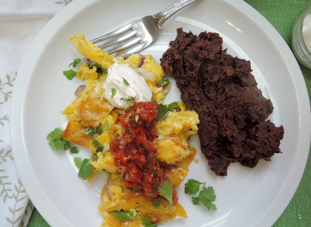 The Briny Lemon: Tex-Mex Migas for Two