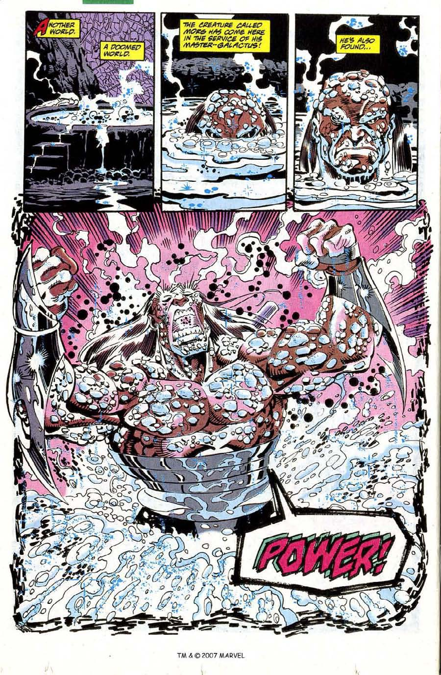 Read online Silver Surfer (1987) comic -  Issue #73 - 22