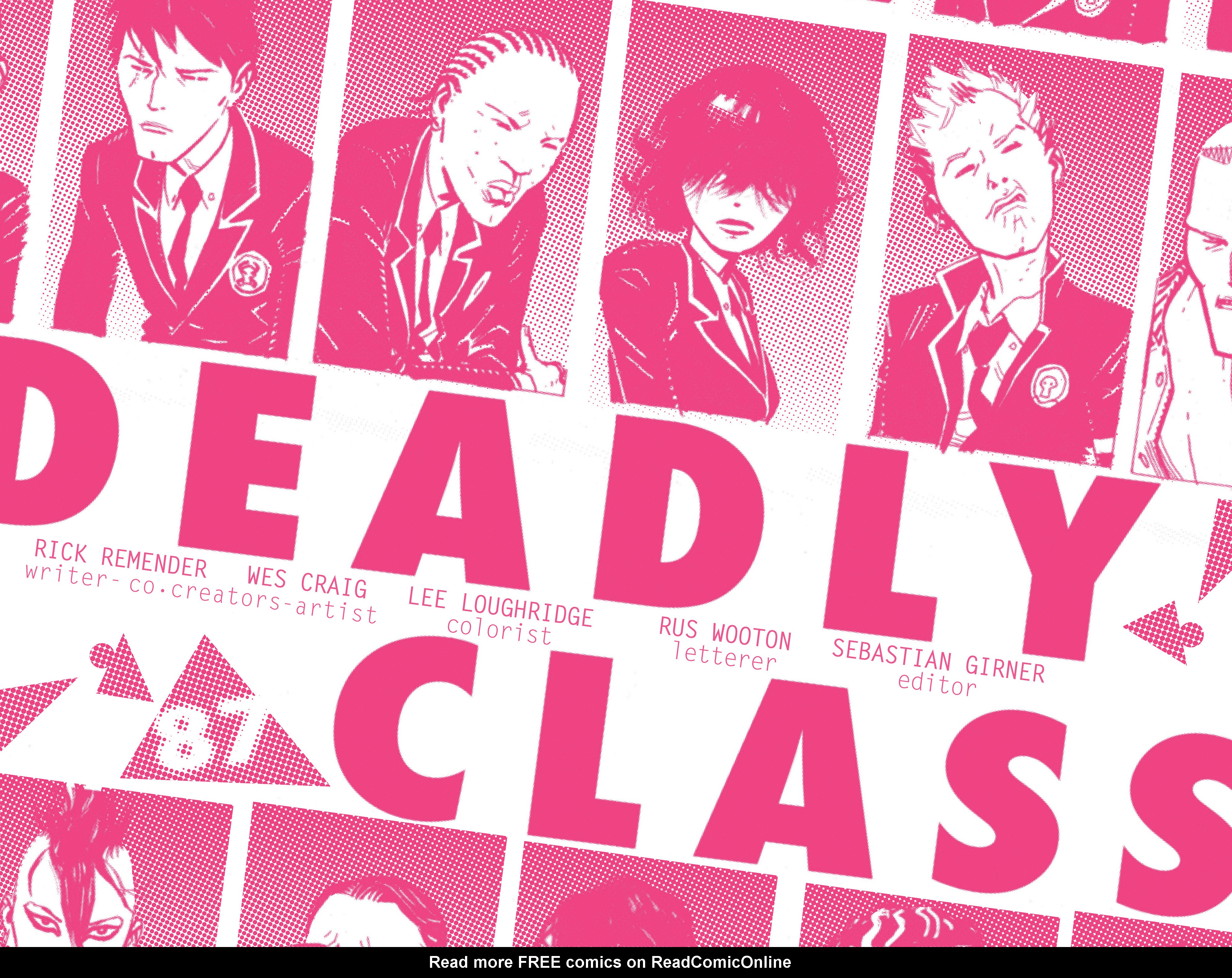 Read online Deadly Class comic -  Issue #3 - 7