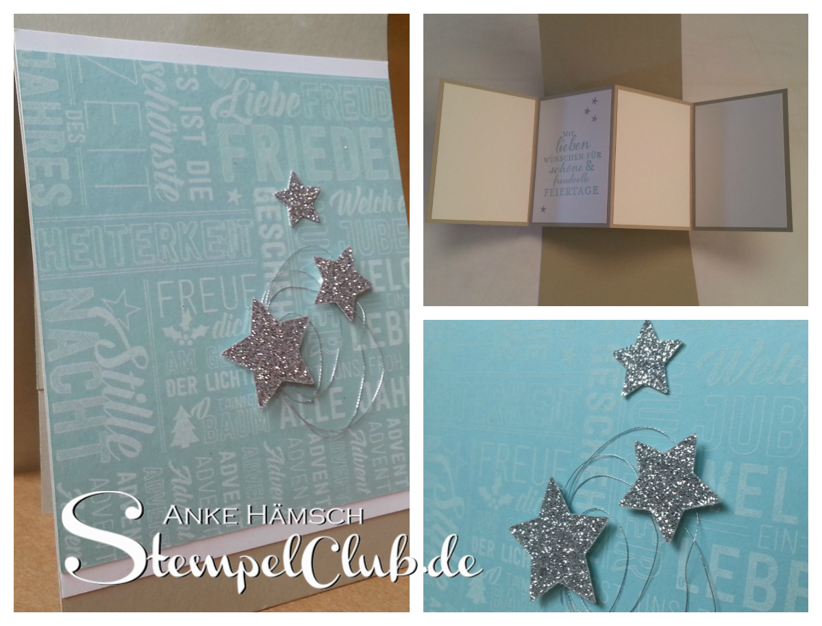Anleitung, Panel-Popup-Karte, Stempelclub, Stampin up