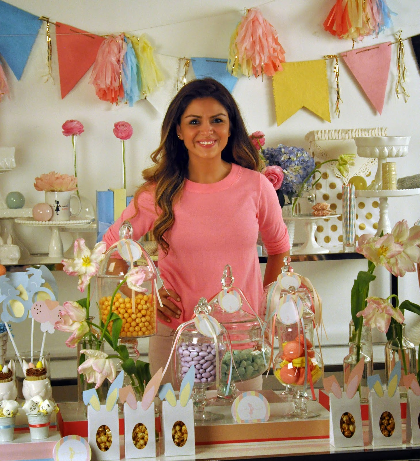 Elle Daftarian from Petite & Sweets | coming soon ... diy sweet table videos